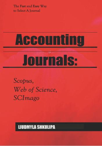 Accounting Journals: Scopus, Web of Science, SCImago's Cover Image