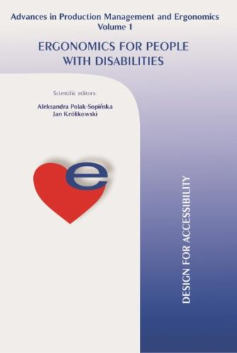 Ergonomics For People With Disabilities's Cover Image