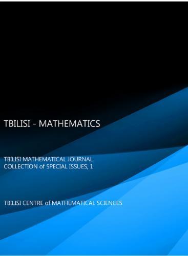 TBILISI  -  MATHEMATICS's Cover Image