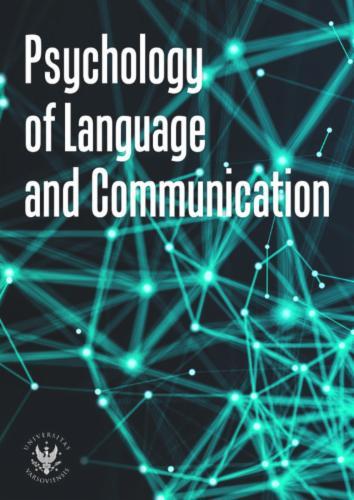 Psychology of Language and Communication